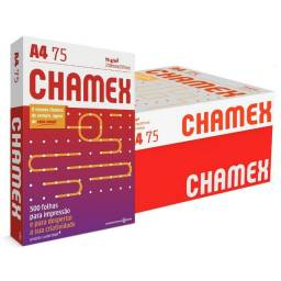 Título do anúncio: Papel A4 Chamex- Caixa fechada 10 pct!s 5.000 fls. Atacado. Serviço de entregas rápidas!.