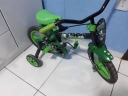Bicicleta infantil  aro 12 track.