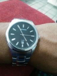 Relógio original todo em aço valor 100 reais