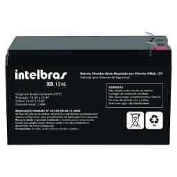 Título do anúncio: Bateria de alarme 12V 7A Intelbras XB 12AL  10x S/juros