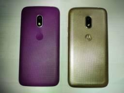 Dois celulares moto G4 play