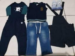 Título do anúncio: Lote de roupa para bebê