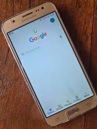 J5 Samsung tel nova  vendo barato p sair hj
