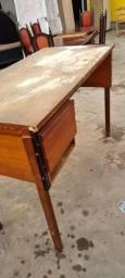 Mesa madeira alta - ENTREGO