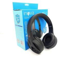 Headphone via Bluetooth com microfone embutido novo e com garantia