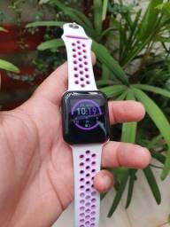 Smartwatch relógio inteligente conecta no celular Whatsapp facebook Instagram