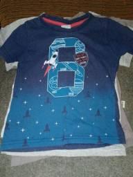 Camisetas infantis menino