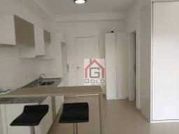 Apartamento com 1 dormitório para alugar, 36 m² por R$ 2.353,00/mês - Jardim do Mar - São