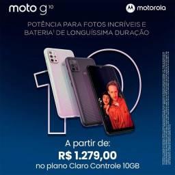 Motorola G10 disponível novo