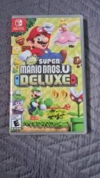 Título do anúncio: Super Mario Bros u Deluxe Nintendo switch Vendo ou Troco