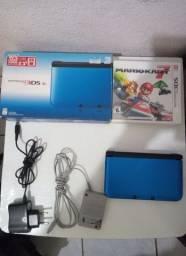 Nintendo 3ds XL com Caixa+ 3 Jogos