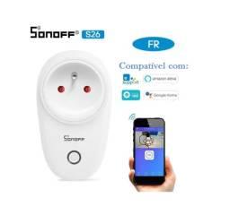 Sonoff Tomada Inteligente wifi S26 Entrada EU