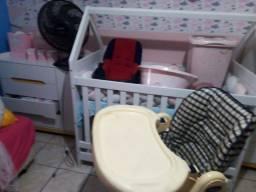 Título do anúncio: Kit COMPLETO bebê menina + ventilador