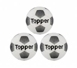 Bola Futebol Topper Extreme 4 Futsal - Conjunto Com 3 Unids daabe6cd35710