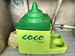 Maquina de vender agua de coco