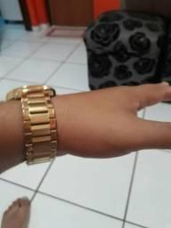 67380fb2036 Relógio Technos dourado