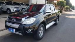 Hilux srv 3.0 diesel 4x4 aut 2010 preta - 2010