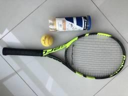 Raquete semi nova Babolat Pure Aero raquete tênis 4 3/8