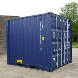 Container seco 10 pés dry 03 metros marítimo usado (baby)
