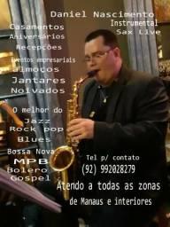 Daniel Nascimento Sax Live Instrumental