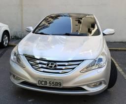 Hyundai Sonata Prata com Teto Solar - Top de linha - 2012
