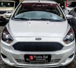 .*. Ford Ka 2018 completo/ ar condicionado e direção elétrica / som integrado - 2018