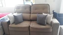 Estofado conforto retrátil e reclinável a partir de R$ 1799 em até 10x nos cartões