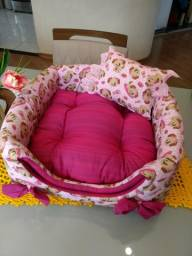 Toquinha para cães vira cama vira sofa