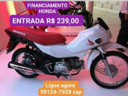 FINANCIAMENTO HONDA POP 110 entrada R$ 239,00