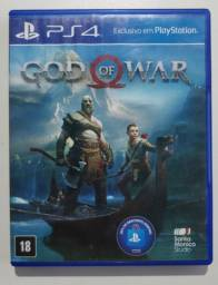 Jogo God Of War 4 Capa Azul Mídia Física PS4 Games Gow 4 Playstation 4