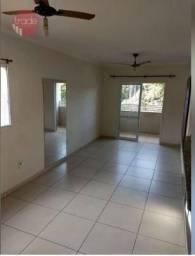 Apartamento com 3 dormitórios para alugar, 98 m² por R$ 1.200,00/mês - Res E Com Palmares