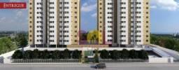 Apartamento no condomínio Piatã Residence com 2 dormitórios, 57m² a venda.