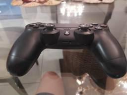 PS4 slim usado com controle e 7 jogos