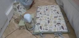 Kit higiene e trocador tema Safari