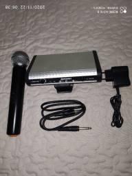Microfone Sem Fio Profissional LEXSEN LWM-58 UHF