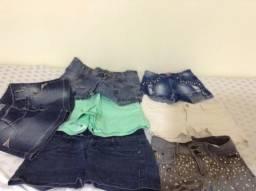 Lote de roupas feminina