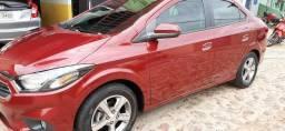 Chevrolet/prisma automático ltz 1.4 vermelho 2018.wn veículos - 2018