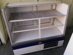 Balcão Refrigerado 1,20 m de Vidro Reto Universal