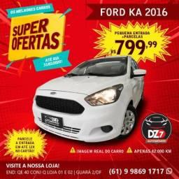 Ford Ka 1.0 2016 - Baixa Km - 2016