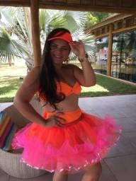 Saia em tule, faça seu look para brincar o carnaval