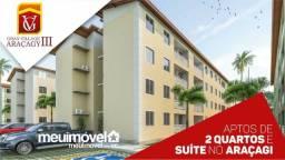34-Apartamentos no araçagy com entrada facilitada!