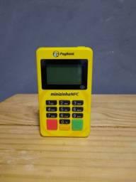Minizinha nfc maquina de cartão pag seguro