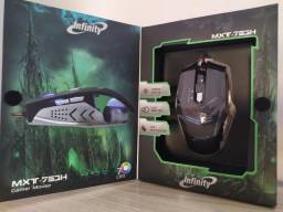 Mouse Gamer Até 7000 Dpi - Mouse Macro com Software