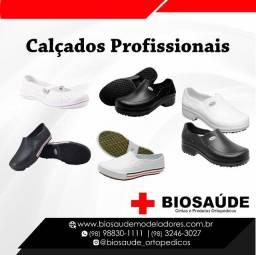 Sapatos profissionais loja Biosaude Angelim