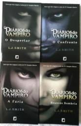 Diários do Vampiro - 4 Livros