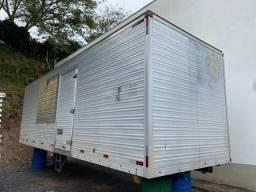 Baú para caminhão truck 8,00m fs caminhoes