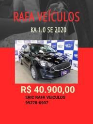 Ka 1.0 se 2020 R$ 40.900,00 - Eric Rafa Veículos -tdv6