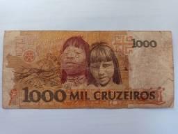 Cédula de 1.000 cruzeiros