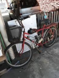 Bicicleta com motor a gasolina em Matinhos pr