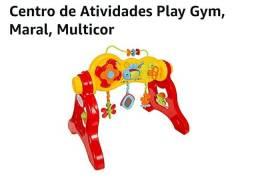 Centro de atividades para bebê três formas de usar